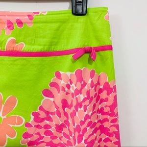 Lilly Pulitzer Kelly Floral Print Skirt